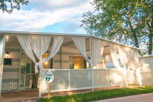 Campingplatz Park Polidor Premium Mobilheime Aussen | AdriaCamps