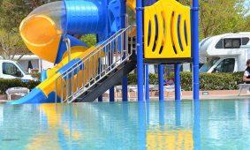Kamp Polidor atrakcije na bazenu | AdriaCamps