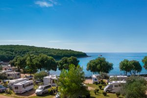 Camping Porto Sole beach and pitches