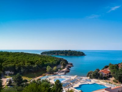Camping Porto Sole beach and pools