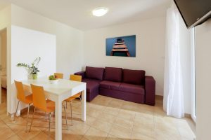 Studio 1/4 with balcony - Camping Rapoća