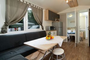 Camping Rapoca mobile homes interior