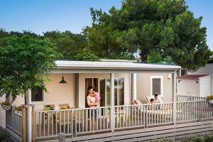 Family - Two bedroom glamping safari loft tent – sea view