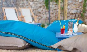 Kamp Skrila bar na plazi