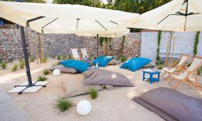 Kamp Skrila bar na plazi s zonom za opustanje