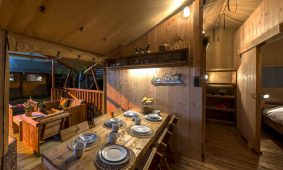 Kamp Slamni - Fishermans Glamping Village interijer | AdriaCamps