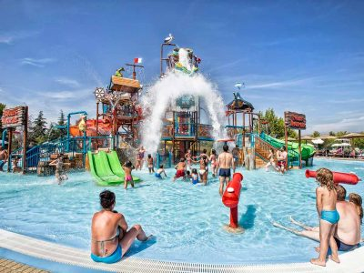 Kamp Solaris Beach Resort Aquapark bazen | AdriaCamps