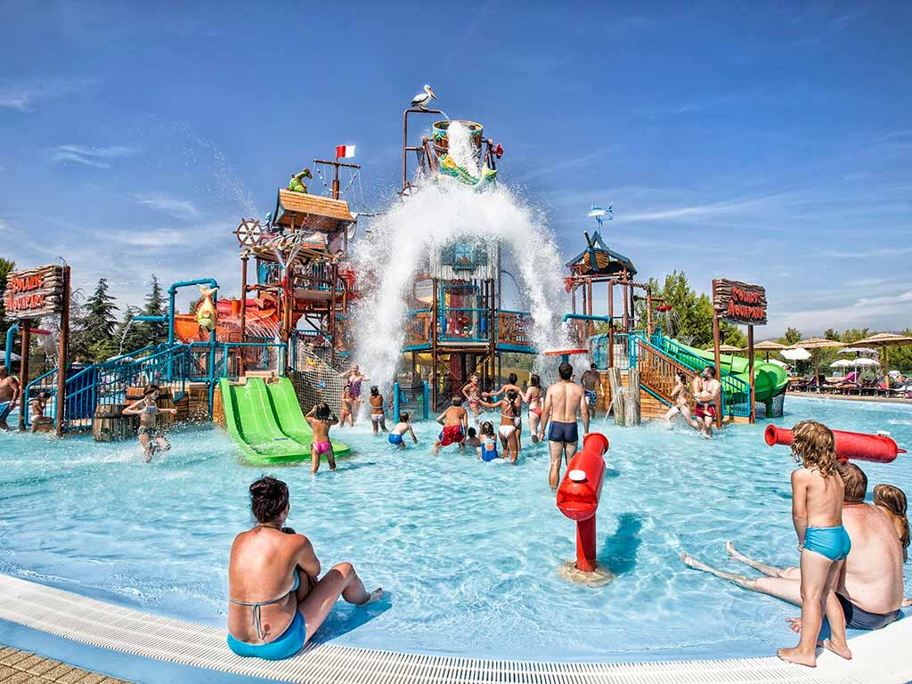 Campeggio Solaris Beach Resort Aquapark piscina | AdriaCamps