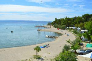 Camping Stobrec Split beach