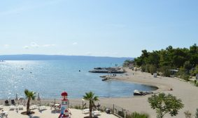 Camping Stobrec Split beach and childrens pool