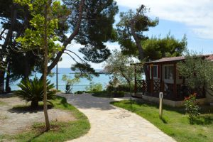 Camping Stobrec Split mobile homes by the sea