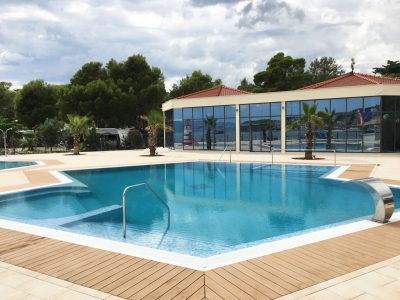 Camping Stobrec Split new pool