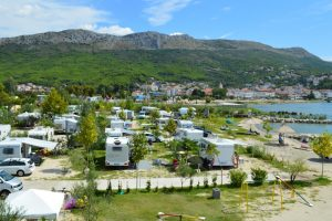 Camping Stobrec Split pitches