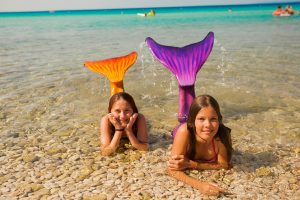 Campsite Strasko childrens animation on the beach | AdriaCamps