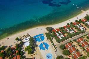 Camping Strasko pool air | AdriaCamps