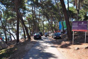 Camping Tasalera entrance