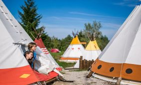 Glamping Tipi tents