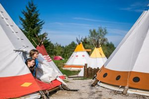 Tipi tents - Mediterranean Family Village