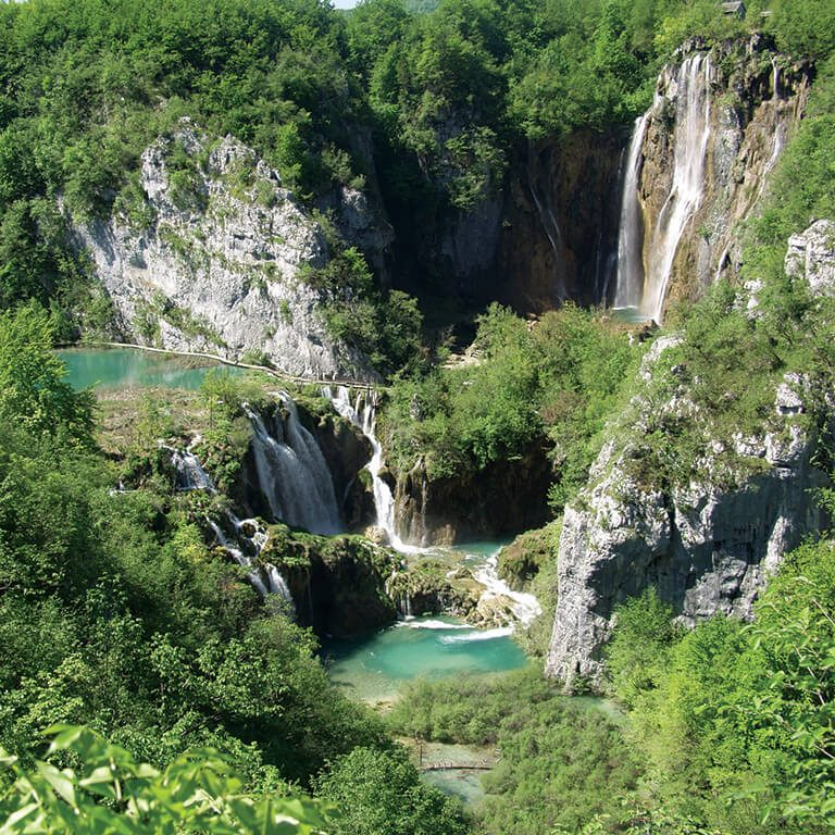Camping Plitvice: Plitvice Holiday Resort - Plitvice Seen, Kroatien