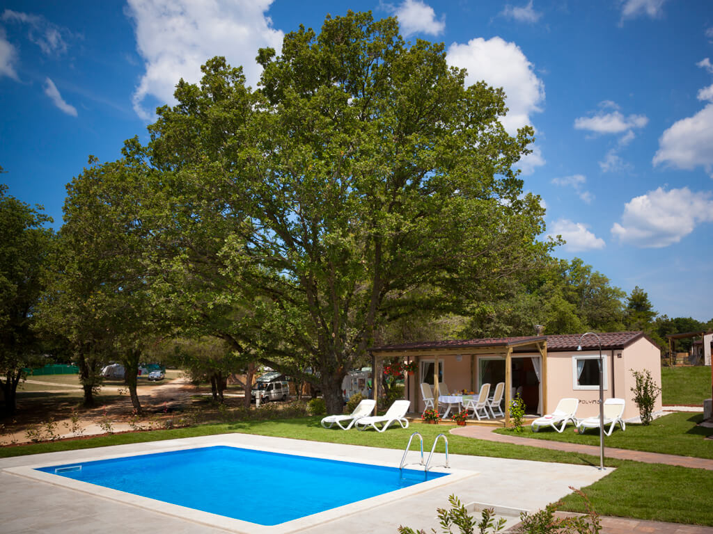40+ mobile homes with swimming pools in Croatia | AdriaCamps