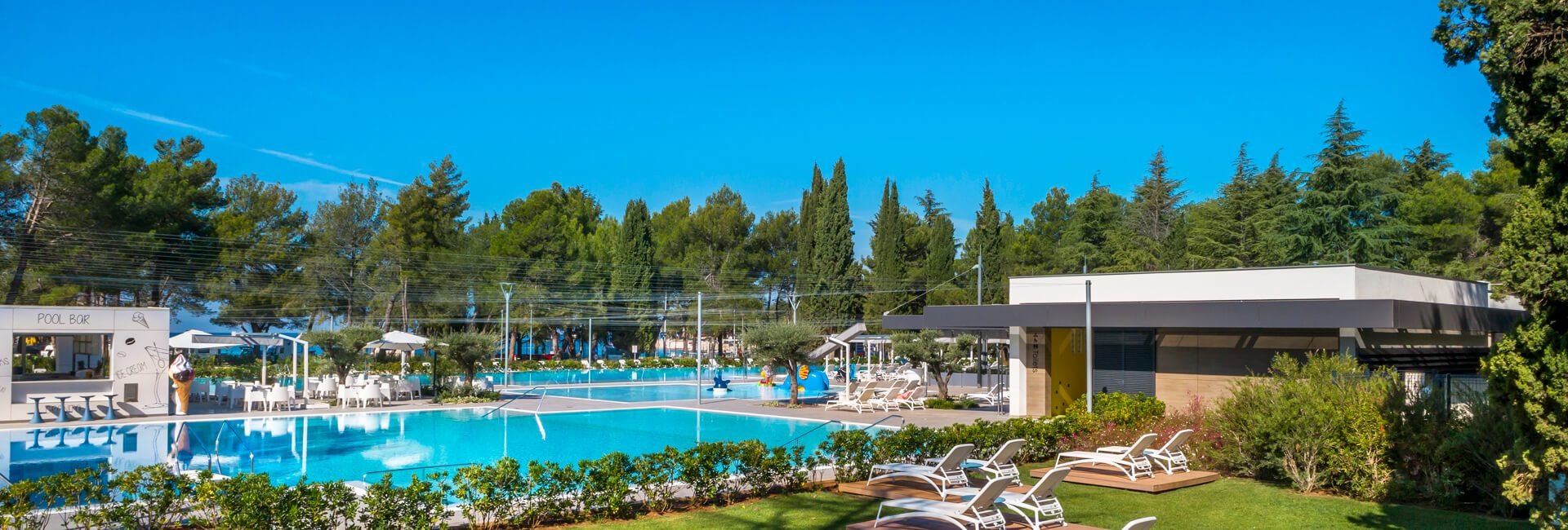 Camping Valkanela new pool by the beach