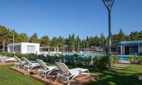 Kamp Valkanela novi bazen lezaljke