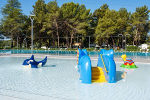 Camping Valkanela new swimming pool for children