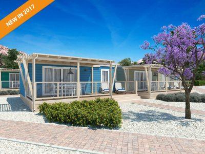 Campeggio Zablace: Marena Premium casa mobile esterno  2017 | AdriaCamps