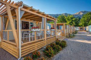 Campeggio Zablace, Marena Premium casa mobile, esterno | AdriaCamps