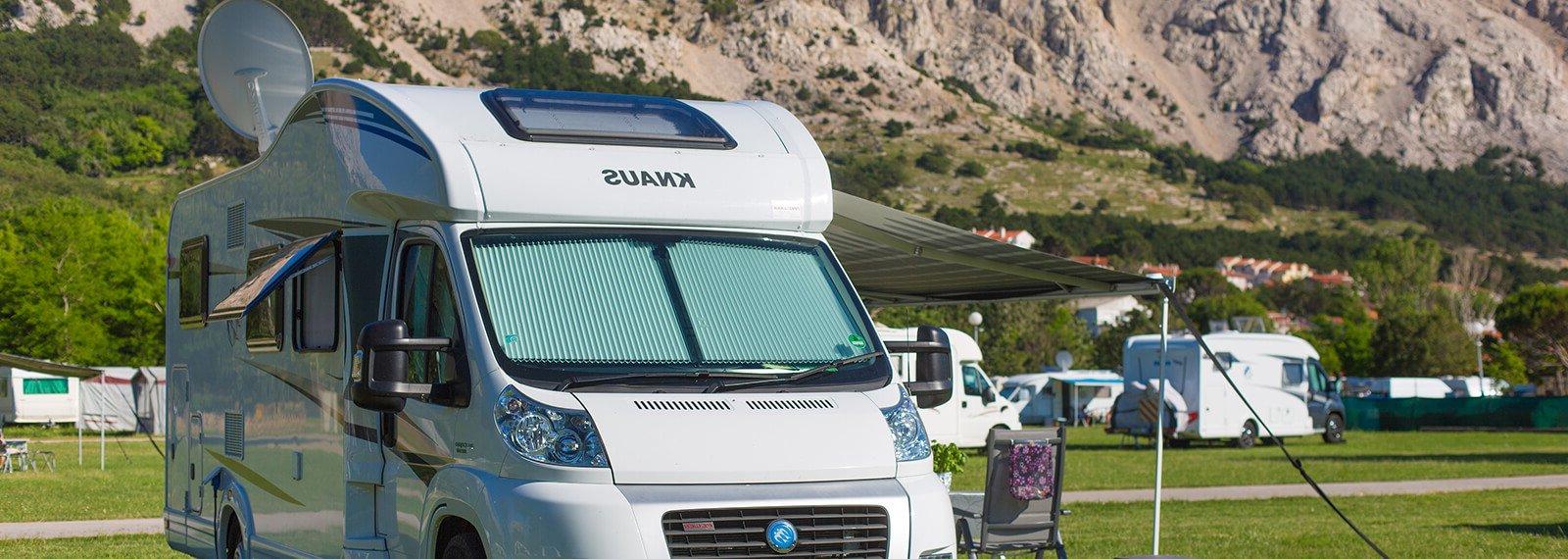 Campingplatze Zablaće standard stellplatz | AdriaCamps