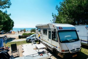 Camping Zaton Holiday Resort pitches by the sea
