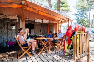 Glamping tent - Kamp Zaton Holiday Resort