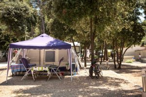 Camping place Standard - Campingplatz Park Soline