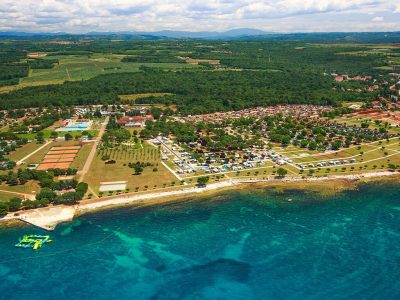 CampingIN Park Umag Pogled iz zraka | AdriaCamps