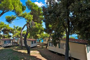 Campiste Arena Stoja mobile homes near the sea | AdriaCamps