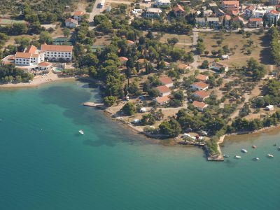 Campsite Miran Pirovac: air view | AdriaCamps