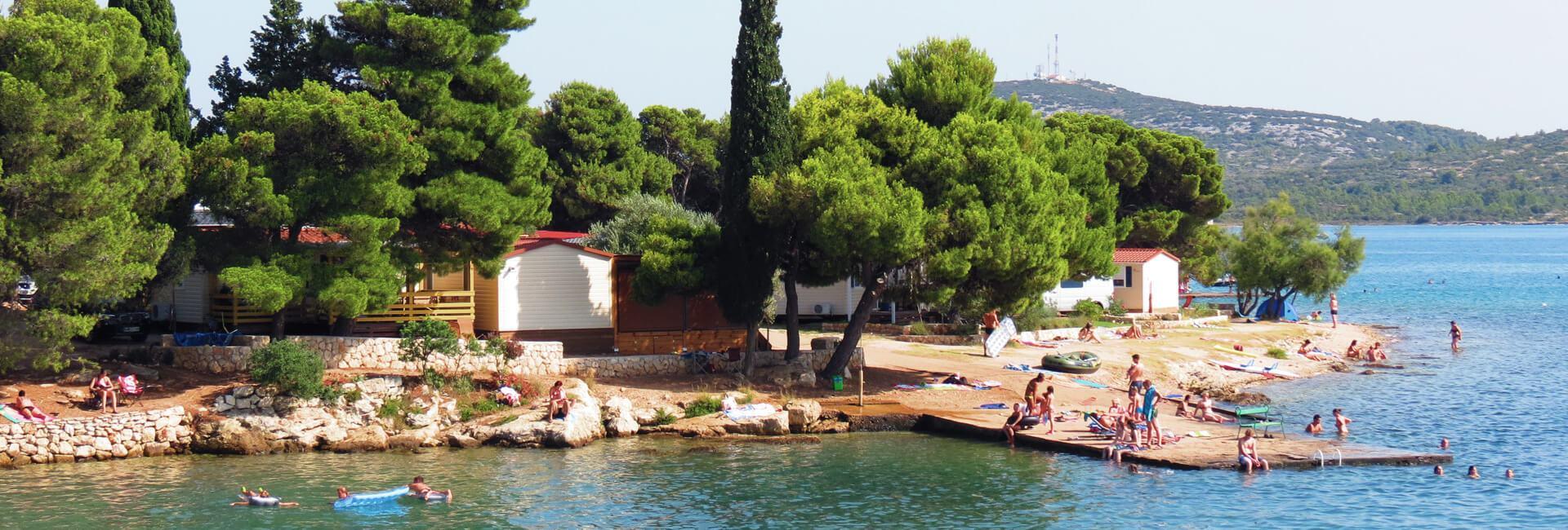 Campingplatz Miran Pirovac Strand