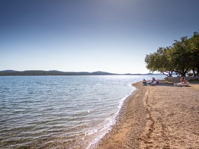 Campsite Miran Pirovac open sea view  | AdriaCamps