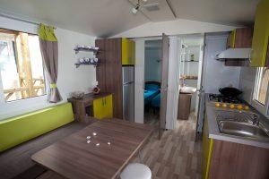Camping Slamni stacaravans interieur | AdriaCamps