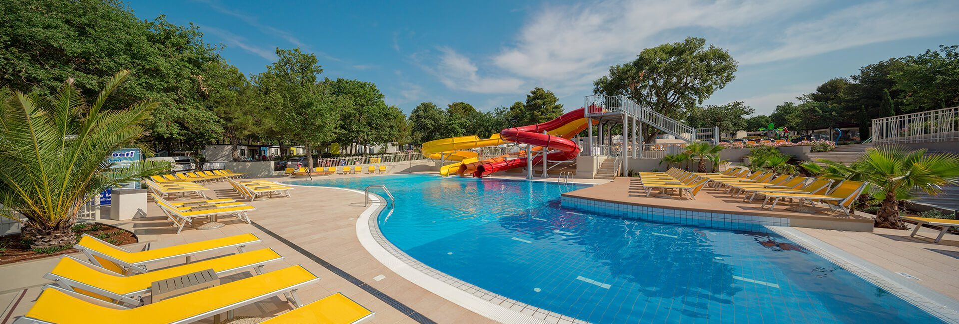 Camping resort lanterna pool