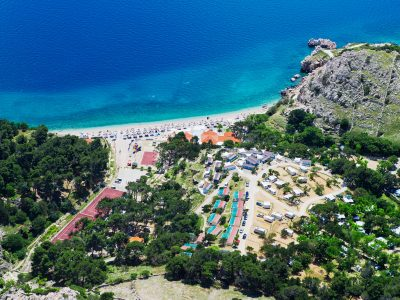 Naturist Camping Bunculuka air view