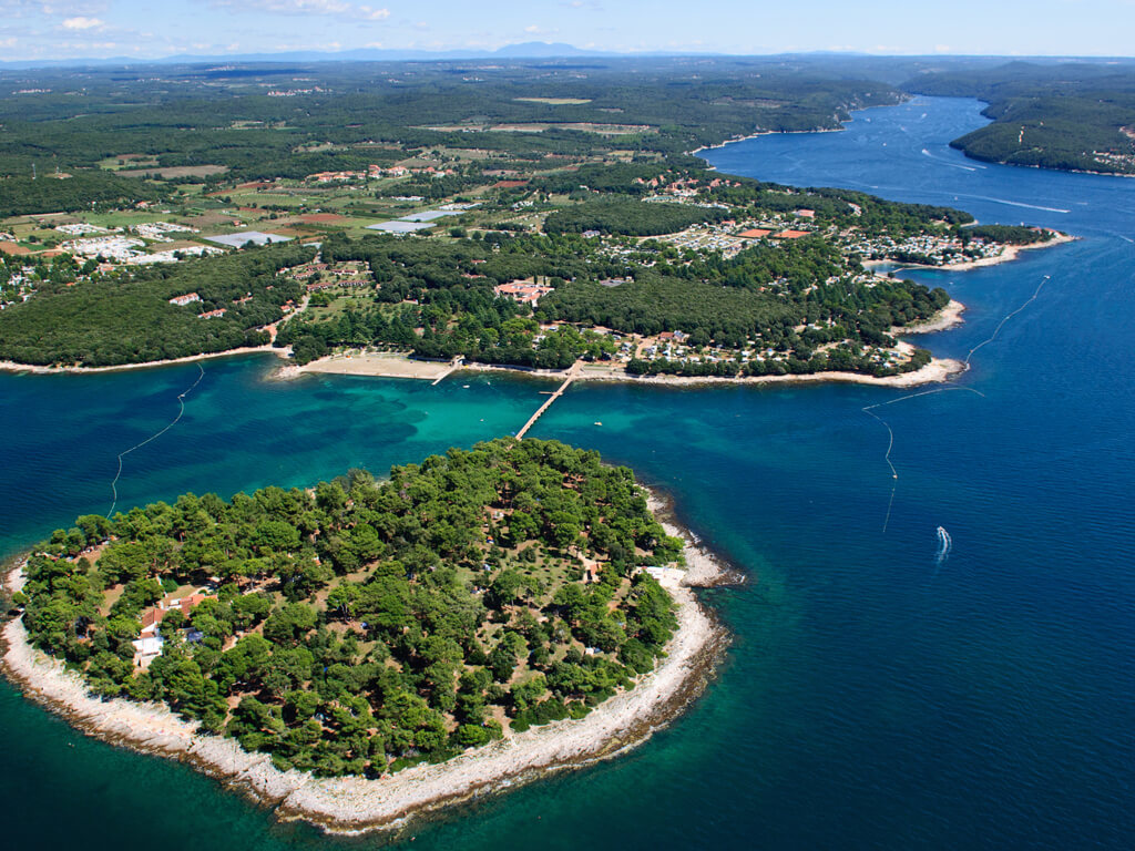 Naturist Camping Koversada luchtfoto