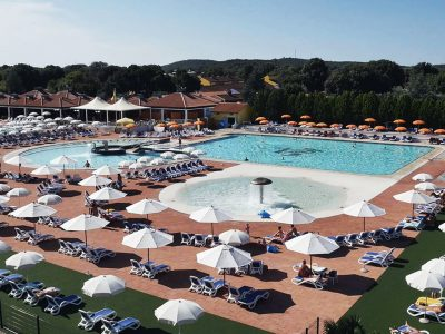 Naturist Camping Valalta swimming pool