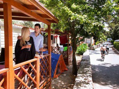 Park Soline Mobilheime Premium-Exterieur | AdriaCamps
