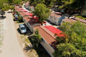 Campsite  Solaris Beach Resort mobile homes exterior | AdriaCamps