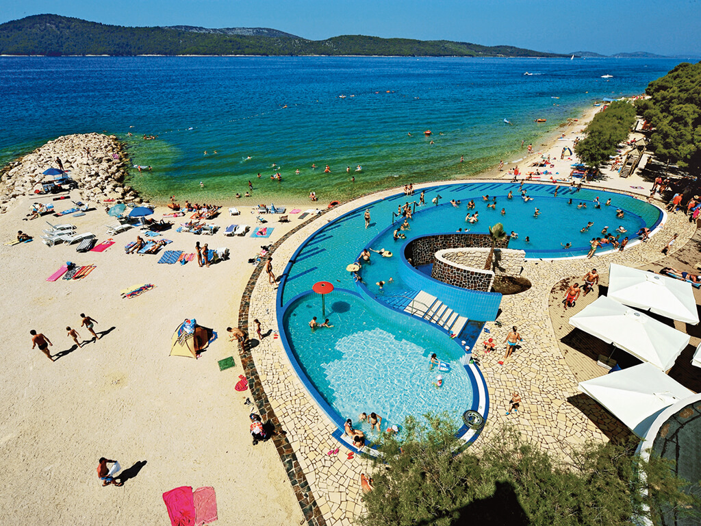 Campingplatz Solaris Beach Resort Aquapark Pool