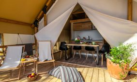 Glamping Two bedroom safari tent (2+2)