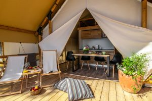 Two bedroom safari tent (2+2) - Kamp Miran Pirovac