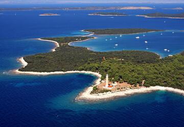 Campsites on Dugi Otok