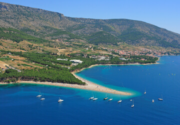 Camping at island Brac | Adria Camps